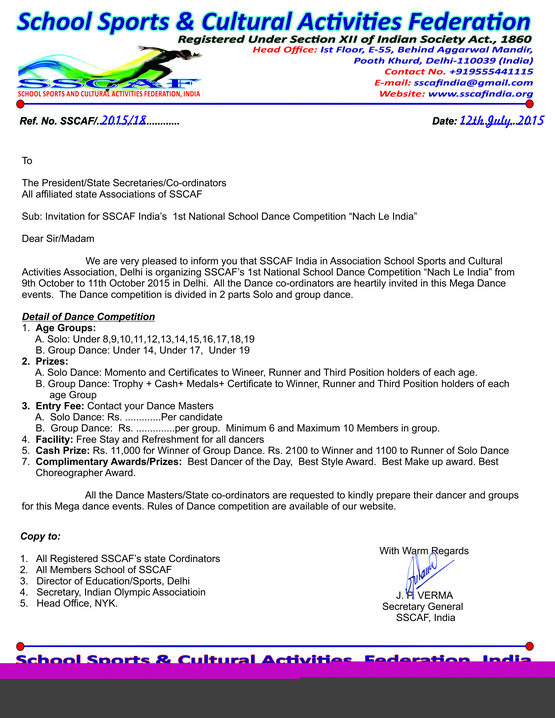 Inter school competitions before st mark s sr sec jain heritage letter format for inter school competition invitation letter for quiz contest choice image stopboris Images